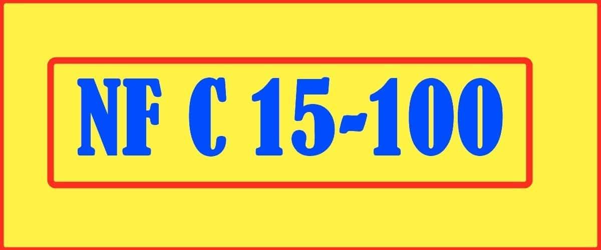 Mise en conformité NF C 15-100
