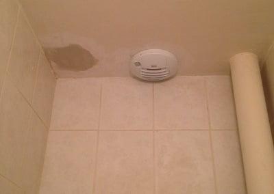 VMC extraction WC avec detecteur de présence