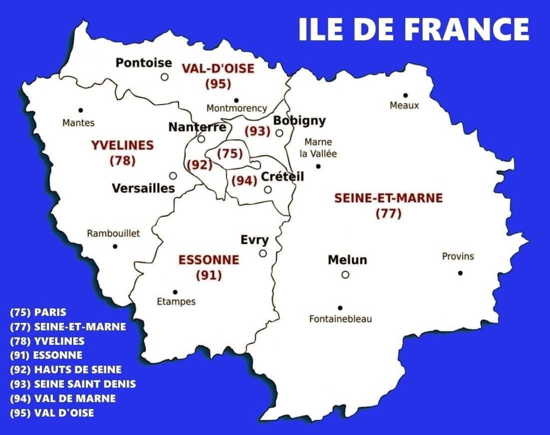 carte idf - webelectro