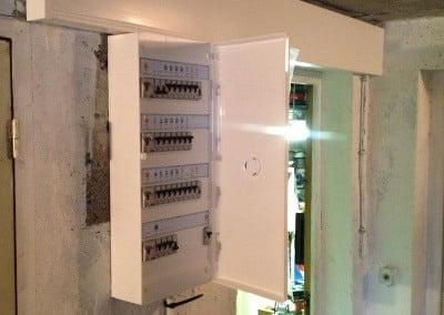 mise en securité tableau électrique 4x13 modules