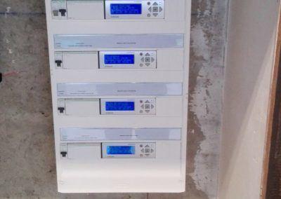 Armoire electrique pour regulation de ventilation