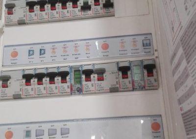 Tableau électrique 4x13 modules