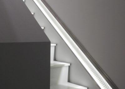 Bandeau Led lumineux escalier